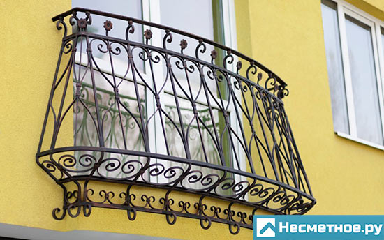 Решетки на французский балкон