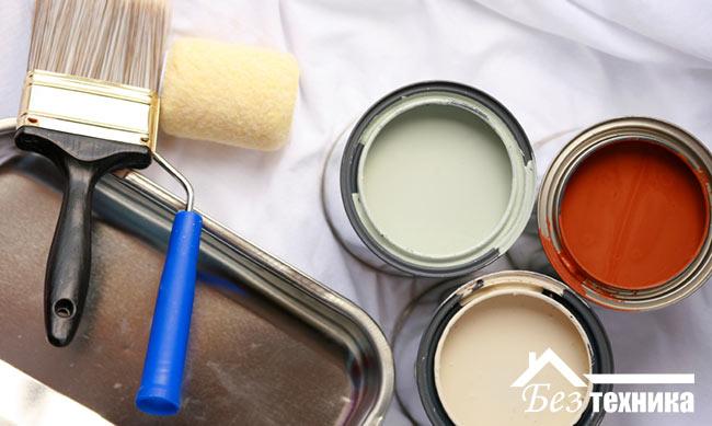 Правила покраски домашних вещей