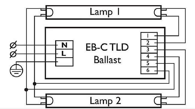 Схема электронного балласта lst 236 s2
