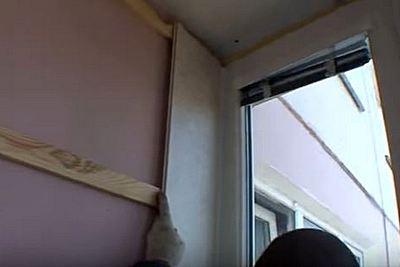 облицовка балкона